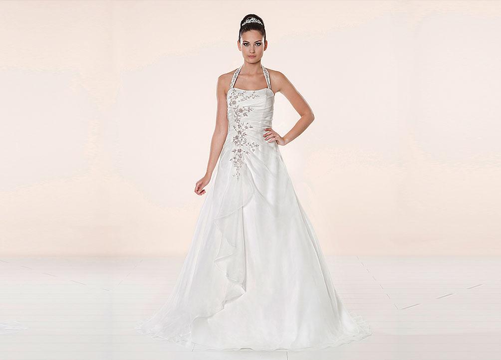 Brautmodetrend 2016: Brautkleid mit Verzierungen