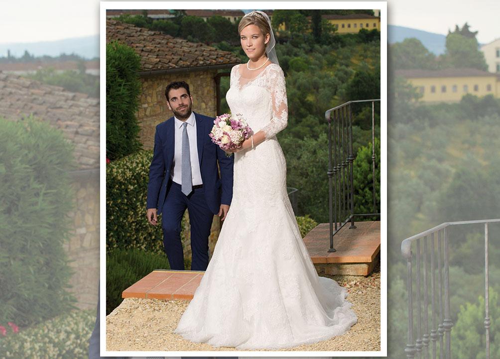 Brautmodetrend 2016: Spitzenkleider